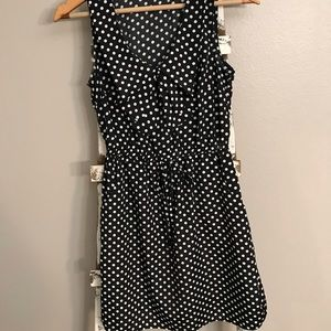 Vintage style polka-dot dress